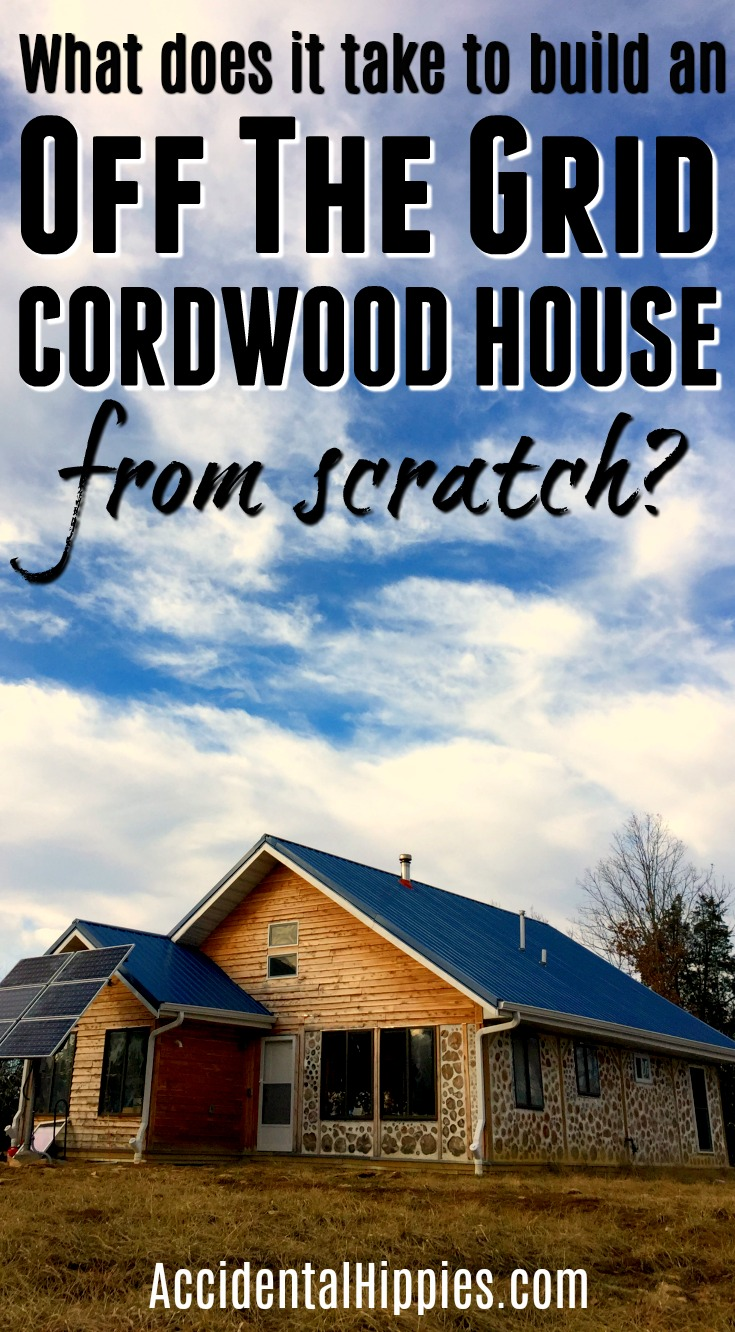 We built our own cordwood house from scratch. What it took to build from the number of trees to the cost might surprise you...