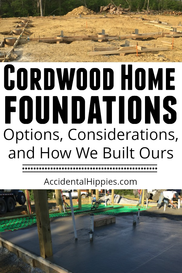 Want to build a cordwood house? Learn about common options, things to consider, and see exactly how we built ours. Read this post to learn more.