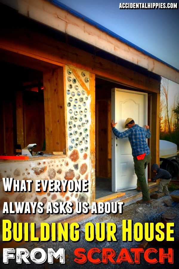 Building a cordwood house was no easy task. How did we learn to build? What are the specs? How much did it cost?? Read here to find out. #cordwood #homebuilding #alternativebuilding #naturalbuilding #homesteading #offgrid