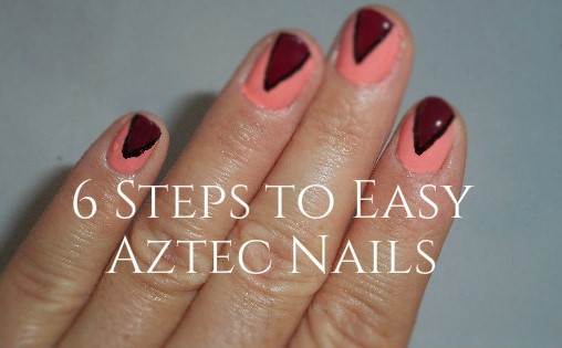 6 Steps To Easy Aztec Nails