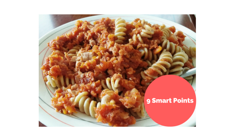 A Quick and Easy Lunch for 9 Smart Points