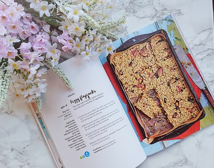 Weight watchers flapjack recipe from Sweet cookbook