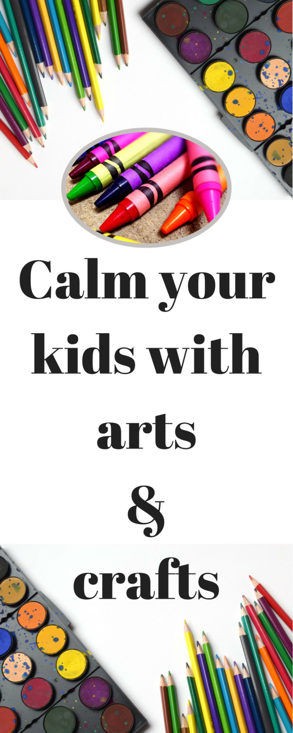 Use Arts & Crafts to Calm Your Kids