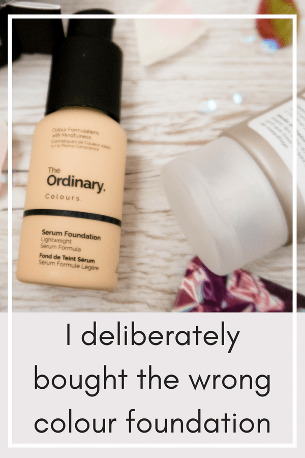 I wanted a dewy foundation that colour corrected my complexion.I'd heard great things about The Ordinary Serum Foundation but needed to tone done the look of my rosacea. I took a gamble and bought a foundation that was not a close colour match to my skin, but instead a more yellow tone. Read the post to see how I got on. #foundation #theordinary #colorcorrection #colourcorrection