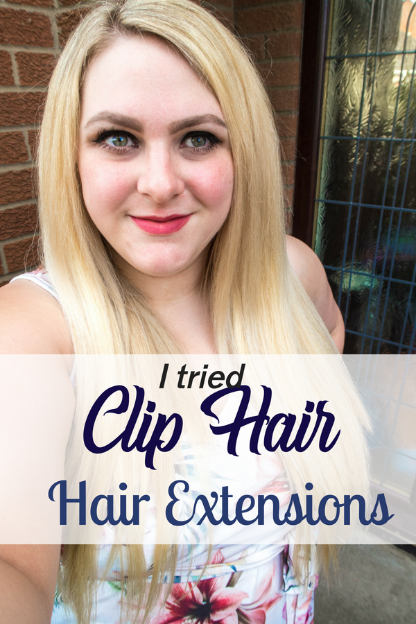 Cliphair sent me some 20inch clip in hair extensions to try for the purpose of this review. I already have quite long hair, click to see how I got on!