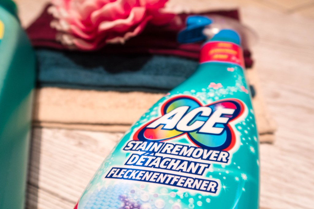 ACE Stain Remover spray bottle