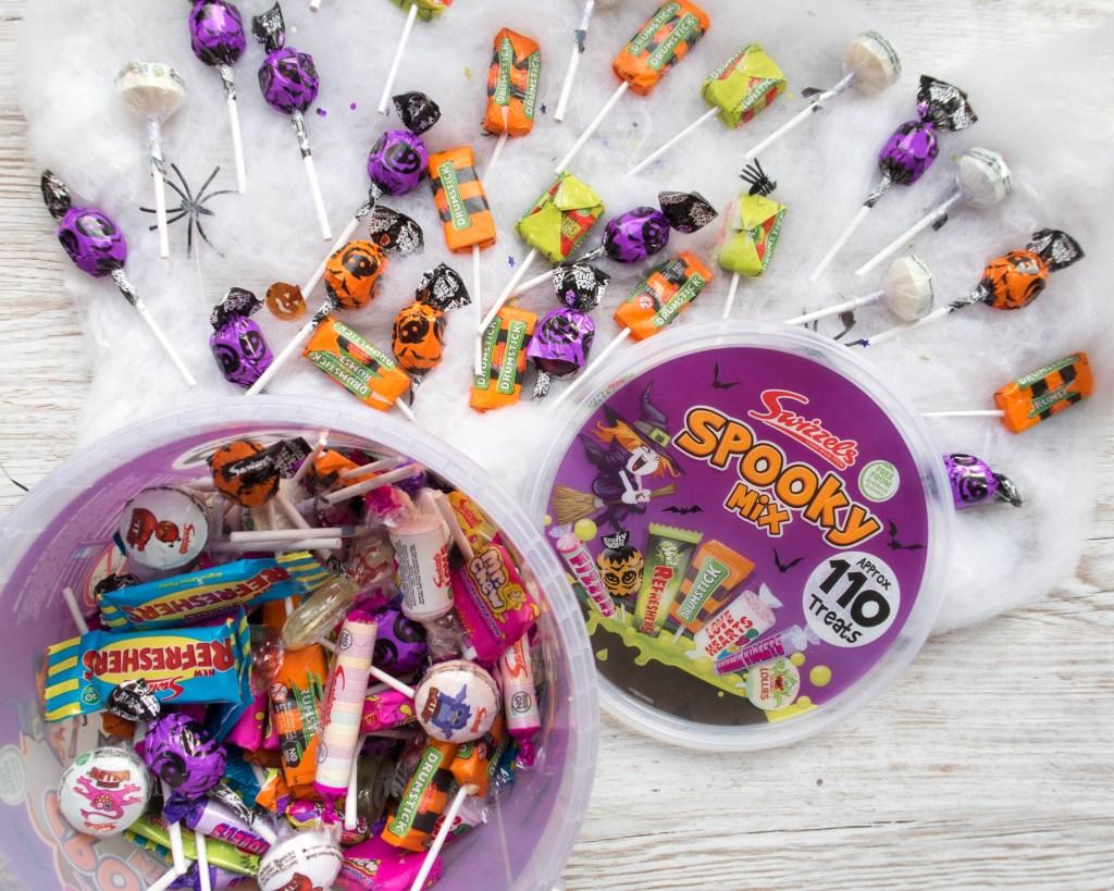 #Halloweensorted spooky mix bucket