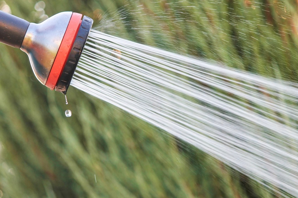 Multiple applications of a pressure washer