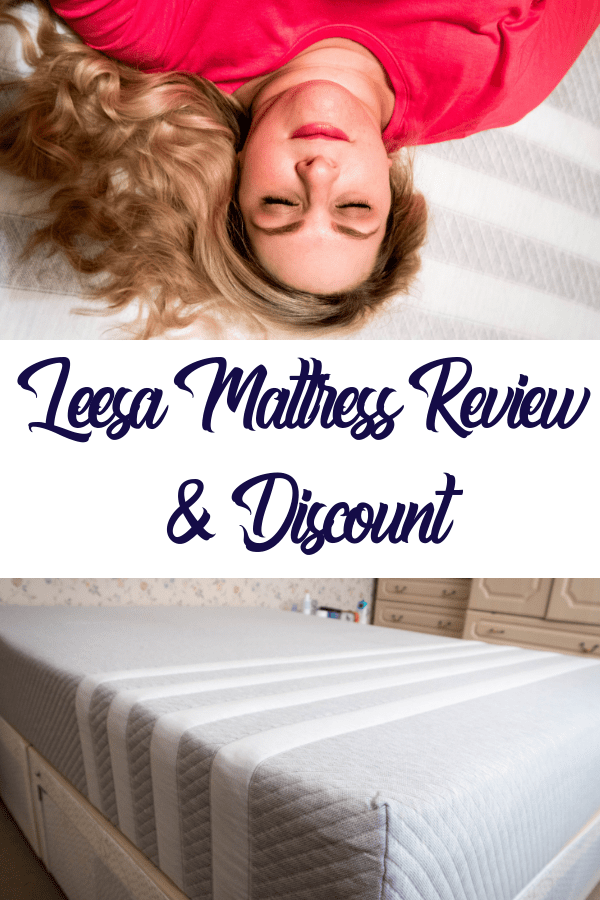 The Leesa mattress has been a godsend from the first night we got it. Now that we have a comfortable bed that we can't get enough of, we look for an excuse to spend time in it whenever we can.