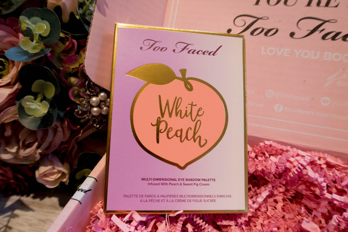 Too Faced White Peach Palette Review & Swatches