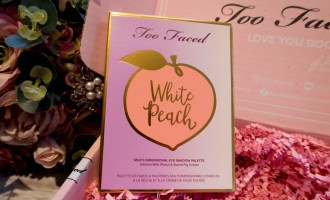 Too Faced White Peach Palette