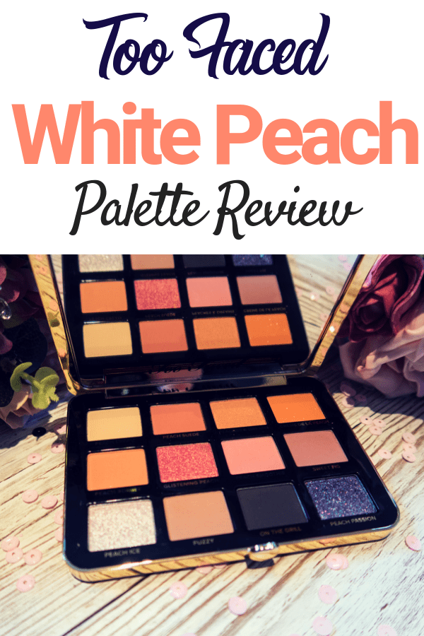 Too Faced have created another winner with this White Peach eyeshadow palette. Blending peaches and pinks (with a dash of dark sass) they have created the perfect eyeshadow palette!