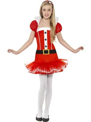 Miss Santa costume Who said Santa has to be a man? Let's switch roles this year. After all - who doesn't love giving presents.