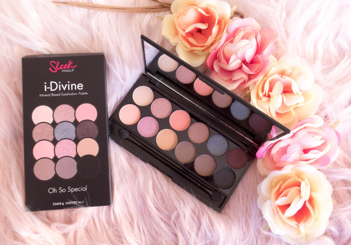 Sleek i-Divine Oh So Special Palette Review