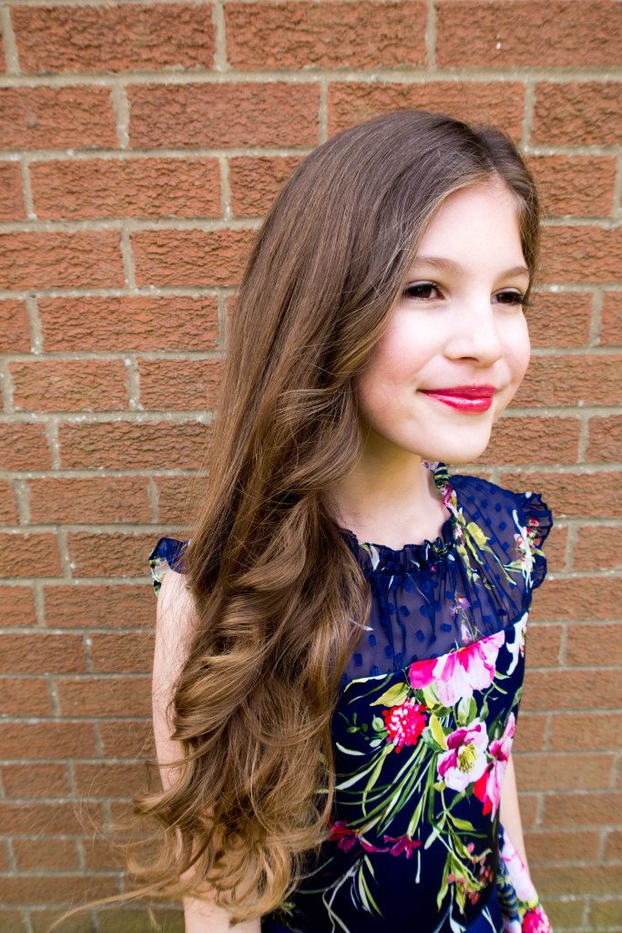 A beautiful formal party dress for a teen or tween from David Charles. Kids fashion at its best. My fashion obsessed tween is thrilled with her party dress... READ MORE HERE #partydress #tweenfashion