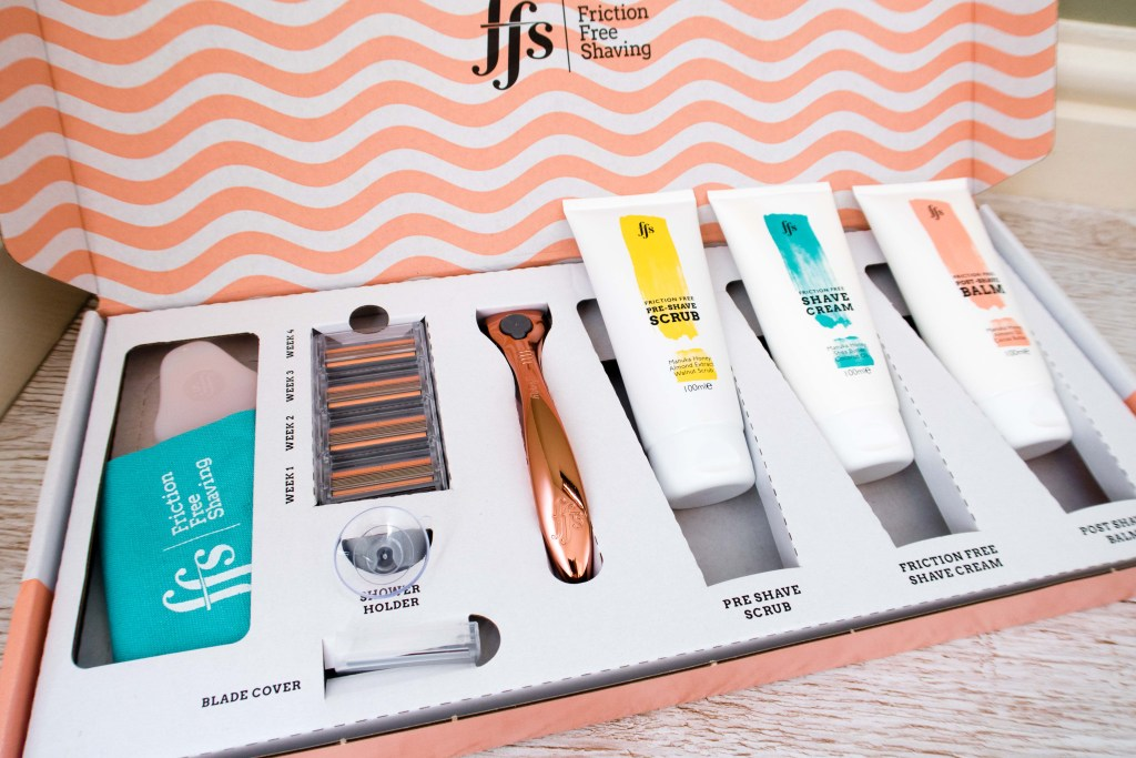 Friction Free Shaving Discount Code. This is the Friction Free shaving gift box