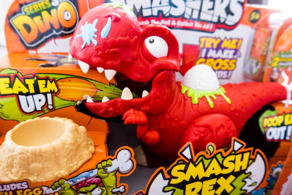 Smashers Series 3 Dino Eggs are Totally ROARsome! [AD]