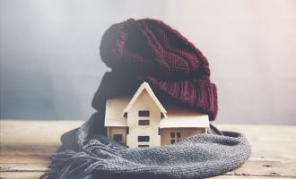 A Simple Boiler Care Plan For The Winter Months house with a hat on