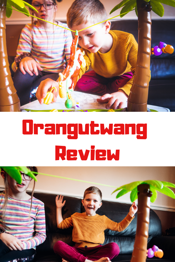 Orangutwang review - an exciting family game that's full of suspense and brings lots of giggles! A great gift for kids aged 4+ #gamereview #toyreview