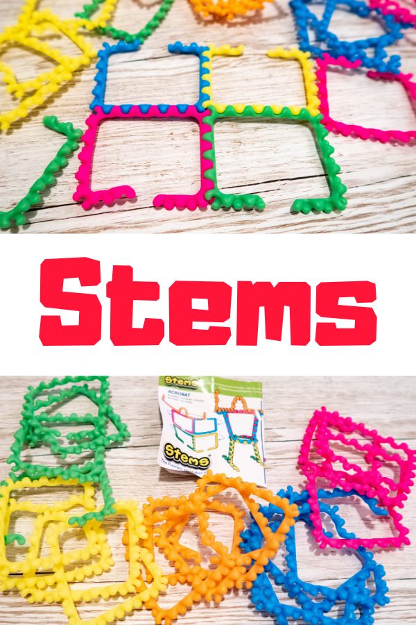 Stems - the flexible STEM toy that improves small motor skills and is load of fun! #STEMToys #STEM