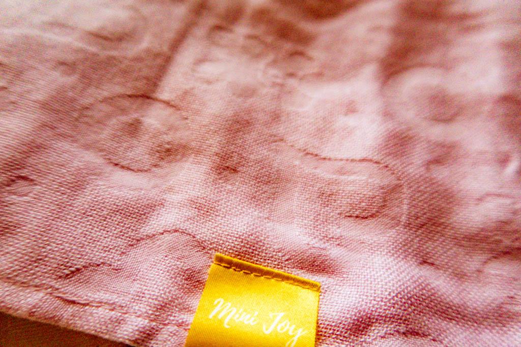 Mini Joy Pink Swaddle