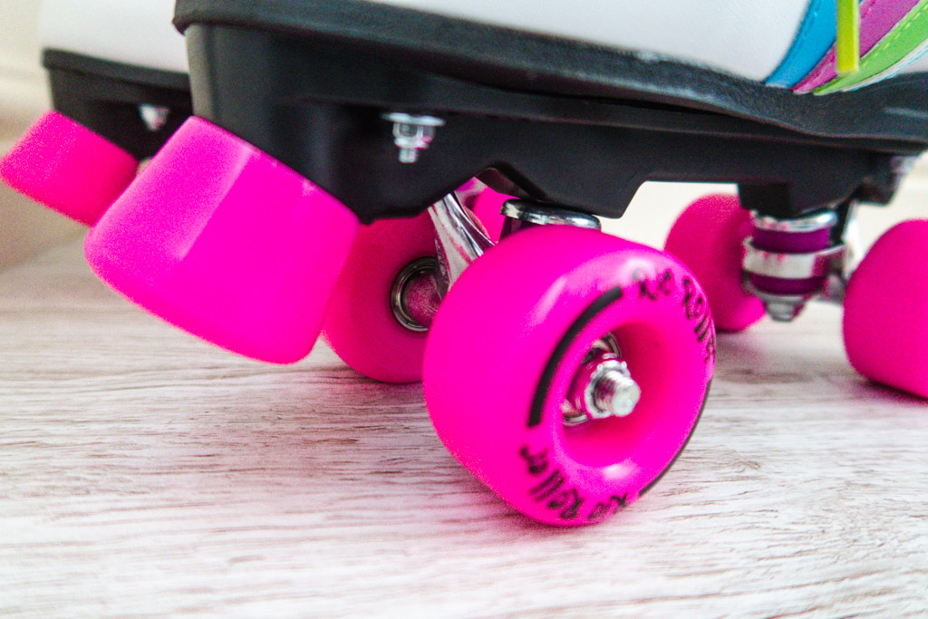 wheels and stoppers of the  rio roller