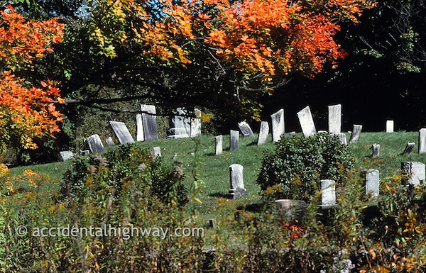 Revolutionary War CemeteryBecket, Massachusettes© jan albers | all rights reserved