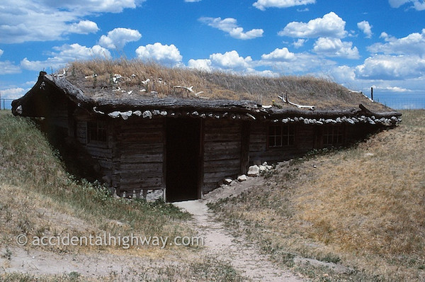 Sod House--Museum of the Fur TradeChadron, Nebraska© jan albers | all rights reserved