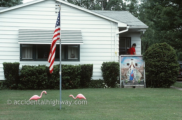 Jesus and the Flamingos© jan albers | all rights reserved