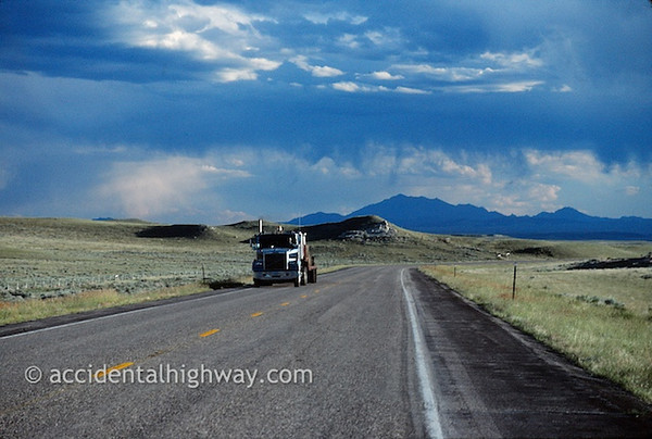 Heading West Toward the MountainsWyoming© jan albers | all rights reserved
