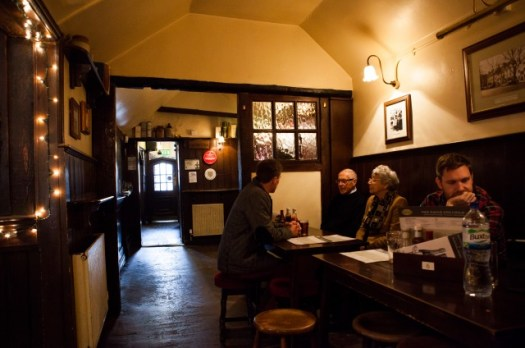 The Rabbit Room - Eagle and Child Pub, Oxford