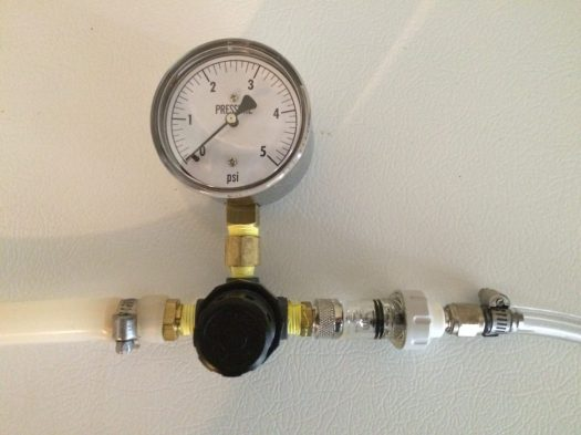 Low Pressure Regulator and Gauge