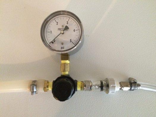 Low Pressure Regulator and Gauge