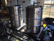 Running the Brew Magic with a new RTD thermocouple today