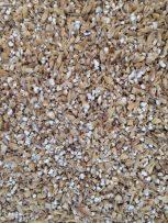 Close up of the base malt crush