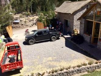 Killawasi lodge - aid station