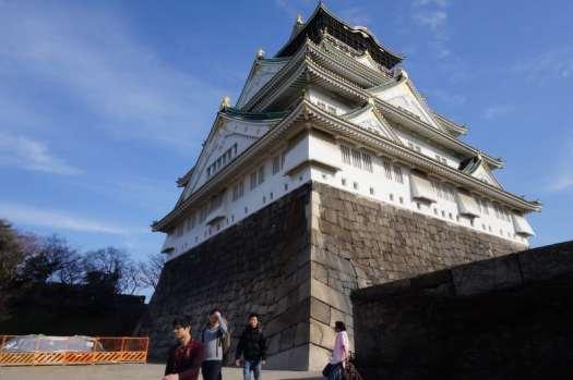 Osaka-castle-exterior