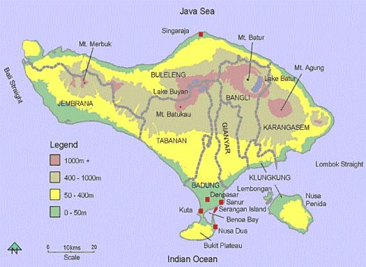 Bali-map-mount-agung