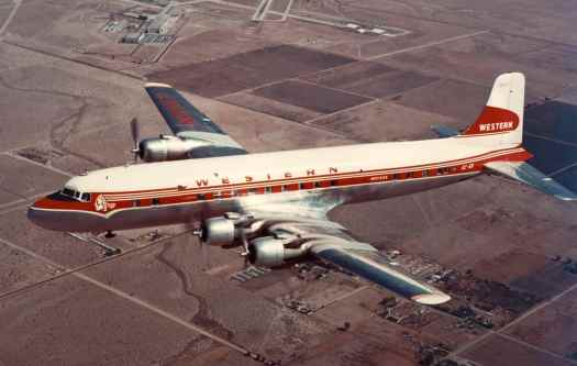 Aviation_Western_Airlines_DC-6