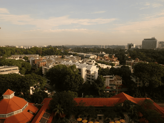 Image-View-from-Singapore-hotel-room