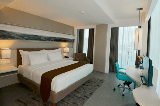 Image-of-room-at-Swiss-Belhotel Jambi-in-Indonesia