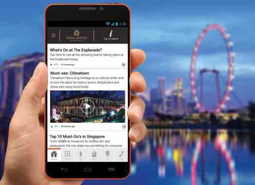 It-Park Hotel Group offers free smartphone service in Singapore