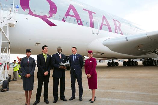 Aviation-qatar-airways-airbus-A380-arrives-Atlanta-Harfield-Airport-3