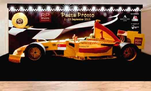 Royal Plaza on Scotts 2013 Pasta Race Car