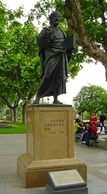 China-Hangzhou-statue-of-Marco-Polo-Credit-Captmjc