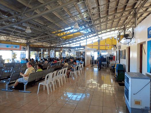 Busanga-Airport-waiting-room-Coron-Philippines