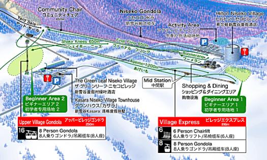Japan-niseko-village-map