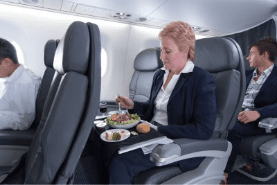 American Airlines Embraer 175 first class seats