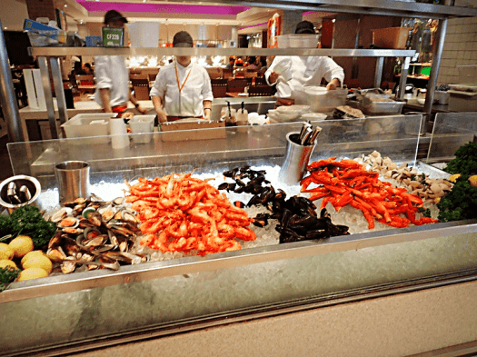 Singapore royal plaza Carousel buffet restaurant