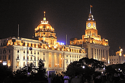 image-of-the-bund-in-shanghai-China-by-Miguel-A-Monjas